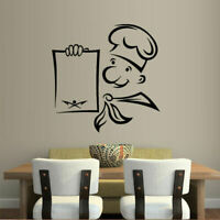 Wall Decal Sticker Vinyl Decor Cook Kitchen Menu Food Cafe Restaurant M970