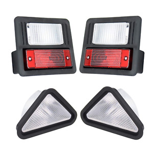 Front & Rear Light Kit Fits Bobcat Skid Steer 751 753 763 773 863 864 873 963