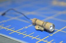 "1:6 BBi Tan Tactical Flashlight Custom Attachment for 12"" Action Figures C-243"