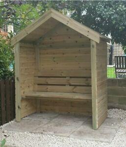 Beautifull Garden Seat/Arbour/bench seat /bespoke £10 DEPOSIT