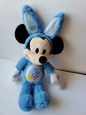 """New listing Disney Mickey Mouse Bunny Easter Rabbit Plush Toy Blue 20"""" soft"""
