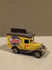 Vintage Diecast Pepsi Model A Delivery Truck Yellow