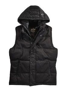 Worldwide Express Black men Jacket fits like USAUK XS size Lacquer Puffer Padded Jacket Vest Men/'s Bomber Winter Jacket