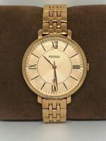 Fossil ES3435 Jacqueline Women's Gold Stainless Steel Analog Quartz Watch Bb563