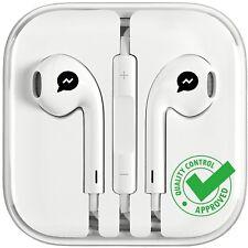 New Earbuds Headphones Earphones Generic w/ Remote & Mic For apple iphone 5 6 7