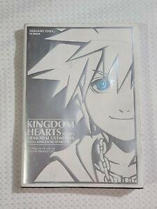 Kingdom Hearts Series Memorial Ultimania Art Book Before Kingdom Hearts III