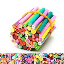 3D 50 un. para Arte en Uñas Fimo Arcilla Polimérica canes palo Varillas Pegatinas Decoración 5 * 50mm