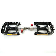 "Wellgo QRD-M138 Road Mountain MTB Bike Bicycle 9/16"" Alloy Pedals - Black"