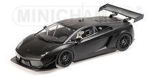 1:18 Minichamps Lamborghini Gallardo LP 600 STREET - NEGRO MATE -nuevo