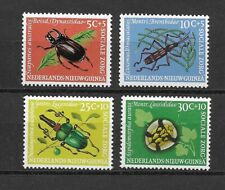 Netherlands New Guinea  Insects issue of 4  MINT NH