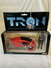Neca Tron 20th Anniversary Collectors Edition Light Cycle Red Boxed Unused Sark