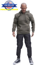 "1/6 Men's Sweater Jeans Shoes Set For 12"" Hot Toys PHICEN Male Figure ❶USA❶"