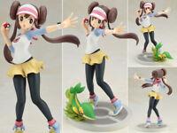 ARTFX J Pokemon Rosa Mei with Snivy 1/8 Pocket Monster Figurine Statue 18cm