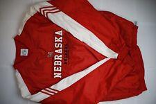 Vintage Adidas Nebraska Jacket Size Large