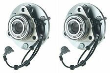 Hub Bearing for 2005 Nissan Titan Fits ALL TYPES Wheel-Front Pair