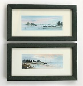 Stephane Lauro Framed Images x 2 See Description & Photos for Details