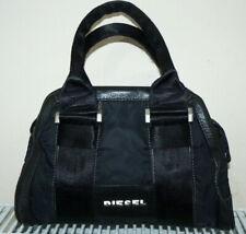 Authentic Diesel Hand Bag Rare Black Tote Bag