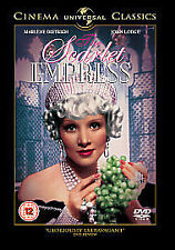 The Scarlet Empress - NEW FACTORY SEALED REGION 2 DVD - MARLENE DIETRICH.
