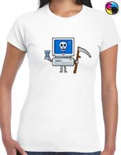 Blue Screen Of Death Royal Juniors Soft T-Shirt