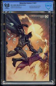 Detective Comics (2016) #1027 Marc Silvestri Variant CBCS 9.8 Blue Label Wht Pgs