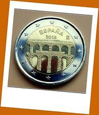 2 Euro Gedenkmünze Spanien 2016  Altstadt & Aquädukt von Segovia .Lieferbar