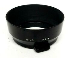 Nikon Metal Spring Snap-on Type Lens 52mm Hood HS-6 For Ai 50 mm F2.0 EXCELLENT
