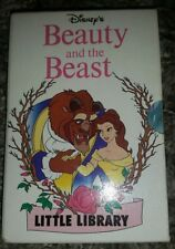 Walt Disney Little Library 4 Book Set BEAUTY AND THE BEAST 1992 MOUSE WORKS
