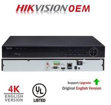 Hikvision(OEM) DS-7616NI-K2(NR320-16) 16CH 4K 8 MEGAPIXEL NVR H.264/H.265