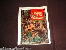 12c 1964 Gold Key #1 Korak Son Of Tarzan Comic High Grade Russ Manning Art