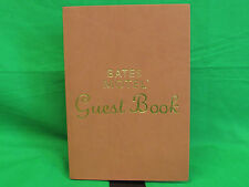 A&E Bates Motel Guestbook Journal New Sealed.