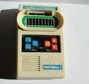 Vtg 1977 Mattel Electronics Football Handheld Game-No Battery Cover