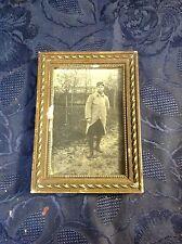 Art. 033 - Vecchia cornice con foto militare
