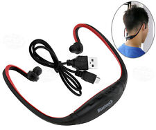 Wireless Stereo Bluetooth Handfree Headphones Headset Sport GYM Earphone Red