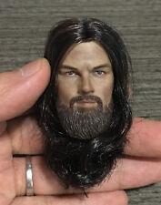 Custom 1/6 Scale Leonardo Dicaprio The Revenant Head Sculpt For Hot Toys Body