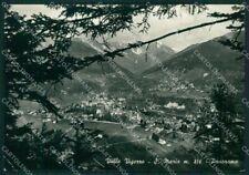 Verbania Santa Maria Maggiore Valle Vigezzo PIEGA Foto FG cartolina KV7072