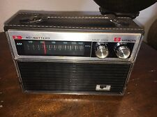 Vintage Hitachi Solid State AM AC/Battery Radio TH-851R - RARE - Tested Works