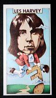 Leslie Harvey  Scottish Blues Guitarist  Original 1970's Card   CAT XMS