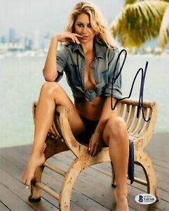 ANNA KOURNIKOVA TENNIS STAR HAND SIGNED COLOR 8X10 W/ BAS COA Y45348