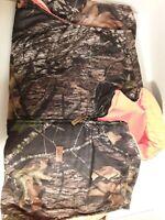 Woolrich Field Hunting Vest:Reversible Advantage Timber Camo-Blaze Orange-(2XL)
