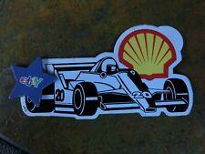 Shell Formel 1 Aufkleber/Sticker,Sammlerstück,rar,Erstbesitzer