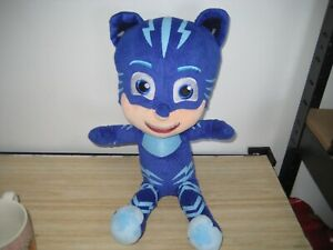P.J.MASKS TALKING CAT BOY PLUSH 15 INCH-GREAT USED