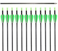 Obert Archery 100 Carbon Arrows 6mm Spine 600 Hunting Recurve Bow Target Field