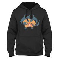 Pokemon Charizard Evolution Hoodie Sweatshirt