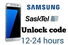 Unlock code Sasktel Samsung S7 edge S6  S5 neo j1 j3 grand prime galaxy Tab E
