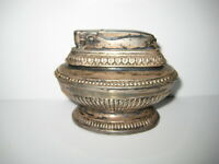 Vintage 1950's Ronson Queen Anne Silver Plated Ornate Table Lighter