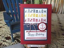 HAPPY BIRTHDAY HANDMADE GREETING CARD ~ emc#076