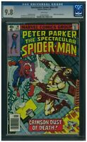 Spectacular Spider-Man # 30 CGC 9.8 WP HTF, and Carrion & White Tiger App !