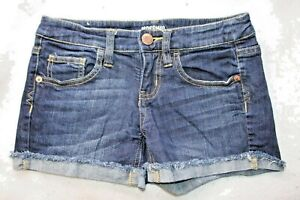 THREE PAIRS OF WOMAN'S SHORTS size 3 Forever 21 Mossimo light/dark blue denim
