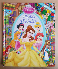 Disney Princess World Of Wonder Look And Find - Hardcover Book - Free Postage