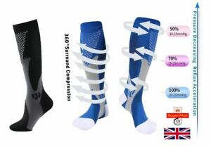 Compression Socks Medical Nursing Stockings Cycling, Running, Adult Sports Socks